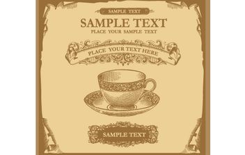 Marcos Vintage Invitation Card - Free vector #172079