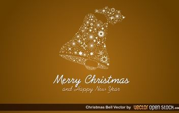 Christmas Bell - Kostenloses vector #172189