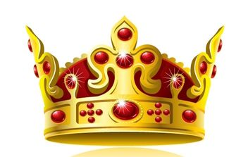 Royal Crown vector - vector #172199 gratis