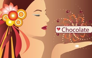 People chocolate - vector gratuit #172429