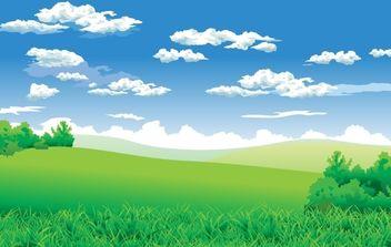 Landscape - vector #172599 gratis
