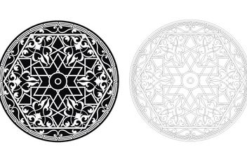 Islamic Ornament - vector gratuit #172749