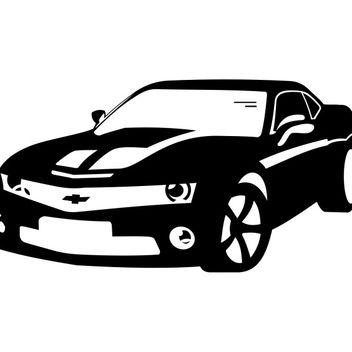 Chevrolet Camaro vector - Free vector #173539