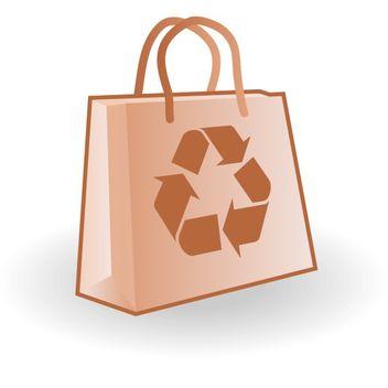 Paper bag vector - Kostenloses vector #173549
