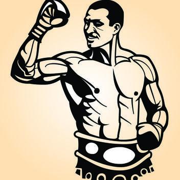 Sketchy Ukrainian Boxer Vladimir Klitschko - vector #173569 gratis