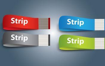 Ribbon Pack 3D Shape - Free vector #174029