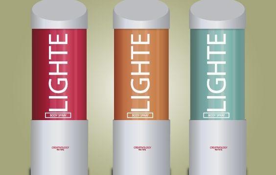 Light Body Spray Pack - Free vector #174089
