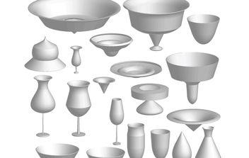 3D Kitchen Staff - vector #174399 gratis