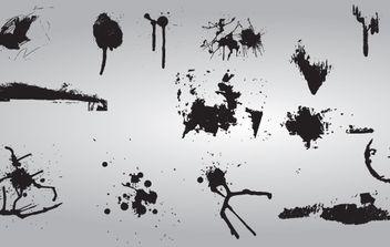 Vector Grunge Splat - Free vector #174559