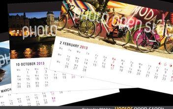 Calendar 2013 - vector gratuit #174659