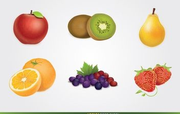 Fruits Vector - vector gratuit #174849