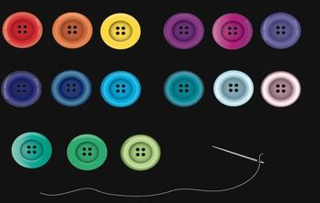 Buttons - Kostenloses vector #174919
