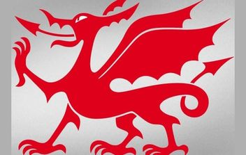 Welsh Dragon - vector gratuit #174969