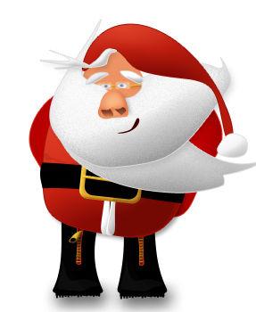 Santa Claus - vector gratuit #175199