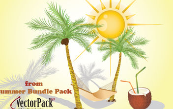 Summer Bundle Free Samples - vector gratuit #175419