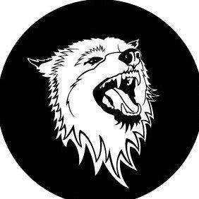 Wolf Vector emblem - vector #175519 gratis