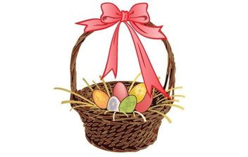 Easter Basket - Free vector #175939