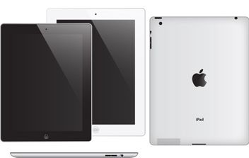 Apple iPad 2 - vector #176179 gratis