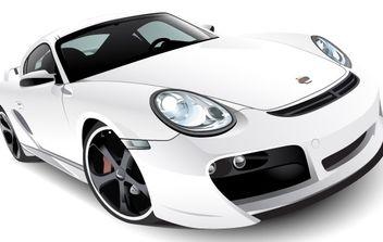 Porsche - vector gratuit #176199