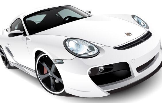 Porsche - vector #176199 gratis