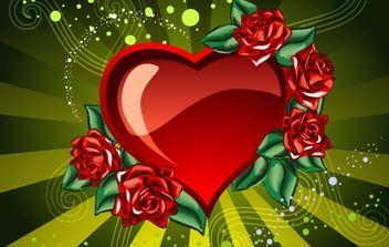 Valentine Vector Artwork 3 - бесплатный vector #176389