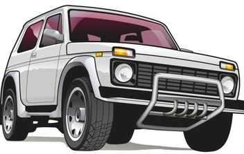 vehicle truck draw - vector gratuit #176479
