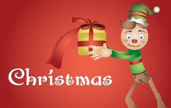 Christmas Duend - Free vector #176849