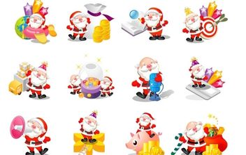 Christmas Vector Pack - Kostenloses vector #176899