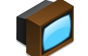 TV Set - vector gratuit #177079