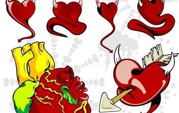 Hearts - Kostenloses vector #177319