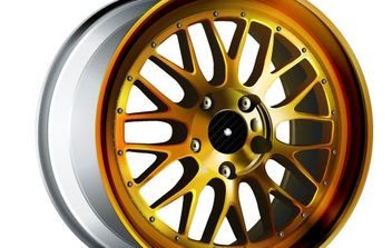 Gold Wheel - vector gratuit #177359