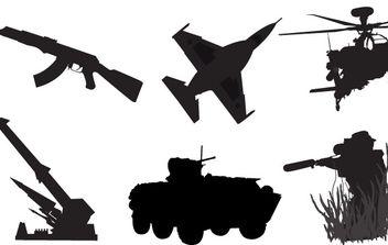 Military Vectors - бесплатный vector #177599