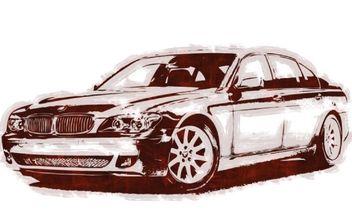 BMW 760Li - бесплатный vector #177759
