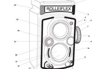 rolleiflex camera - бесплатный vector #177839
