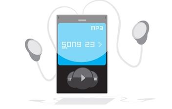 Free MP3 Player Vector Graphic - Kostenloses vector #177879