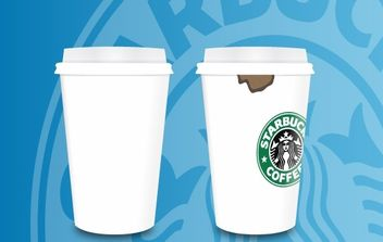 Coffee Cups - vector gratuit #178299