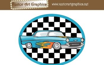 Vector Art Graphics - Classic Automobile - Kostenloses vector #178359