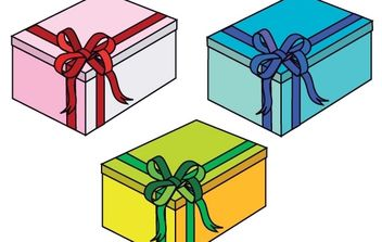 Gift Boxes - Kostenloses vector #178499