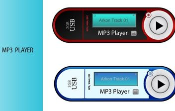 Mp3 players. - vector gratuit #178719