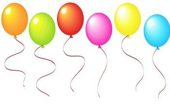 Balloons - Free vector #179289