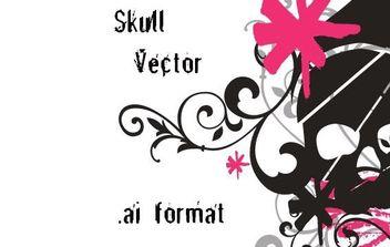 Skull Vector AI - Free vector #179369