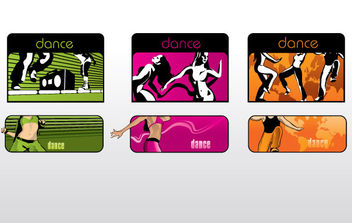 Dance Banner - бесплатный vector #179459