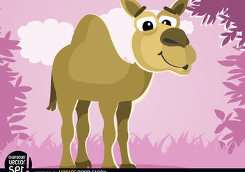 Camel cartoon animal - Kostenloses vector #180809