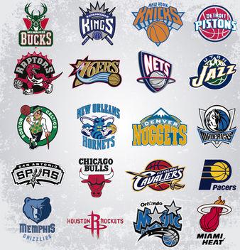 NBA Vector Logos - Kostenloses vector #181429