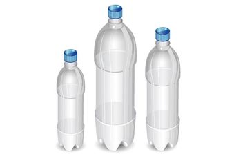 Plastic bottles - Free vector #182159