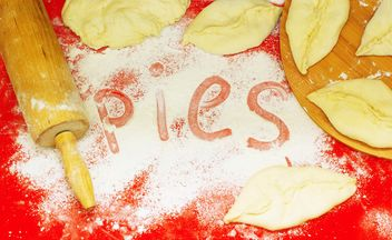Cooking of homemade pies - Kostenloses image #182709