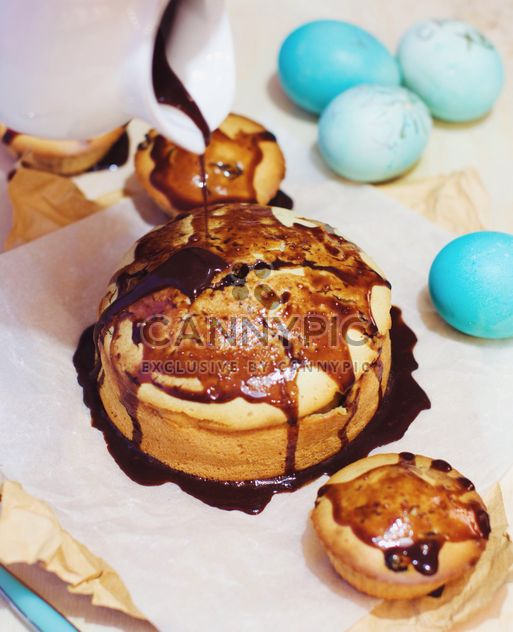 Easter cakes and eggs - Free image #182739