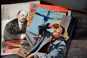 Old Soviet magazines - бесплатный image #182839