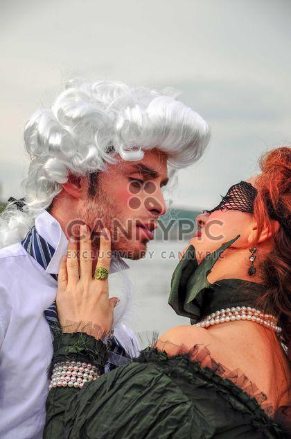 Dame und Herr in eine Umarmung - Free image #182969