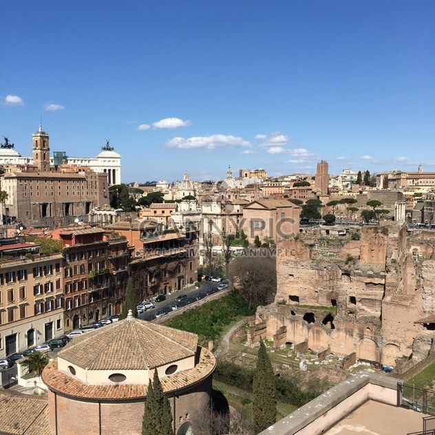View on architecture of Rome - Free image #183099